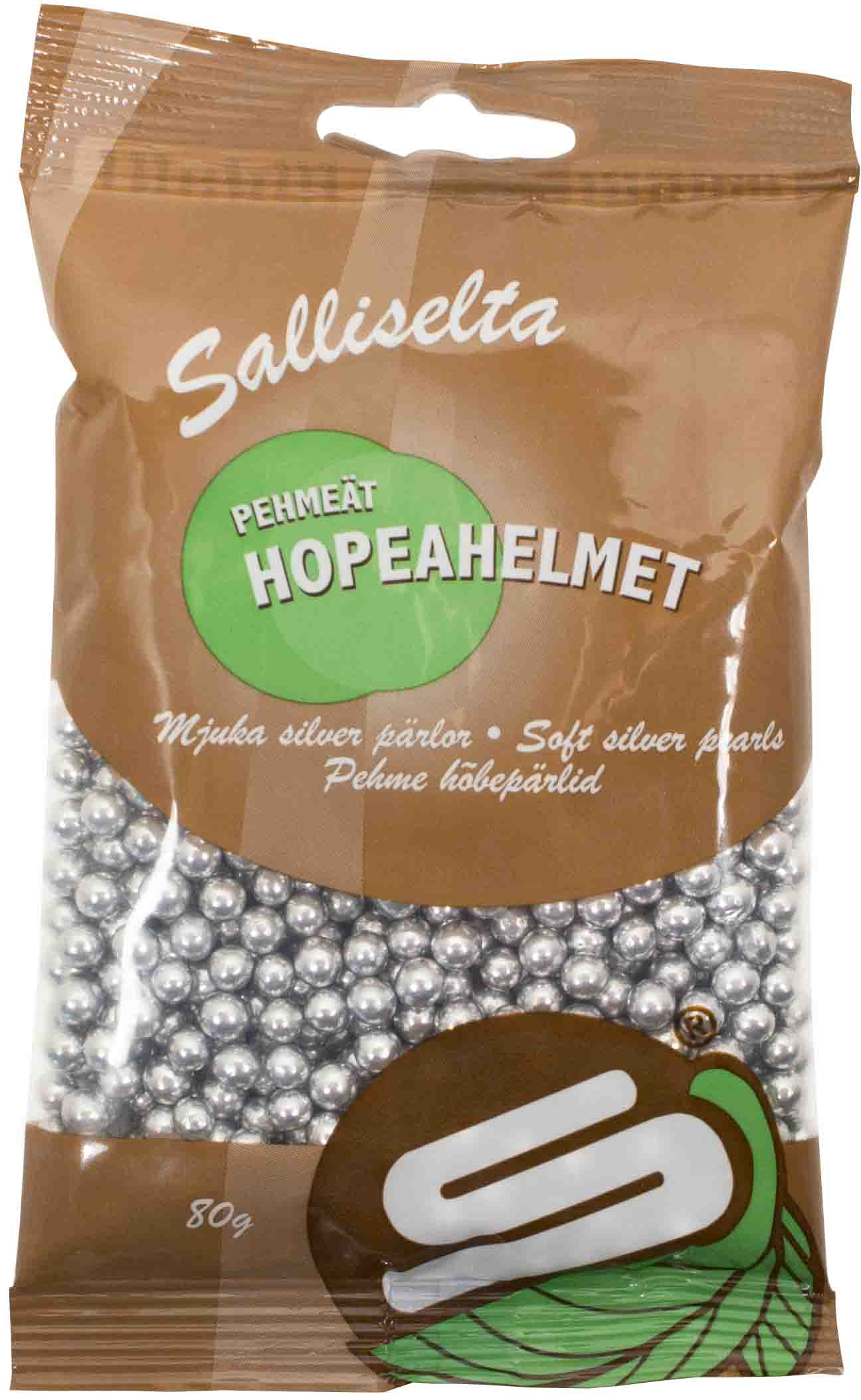 Soft pearls silver 80g