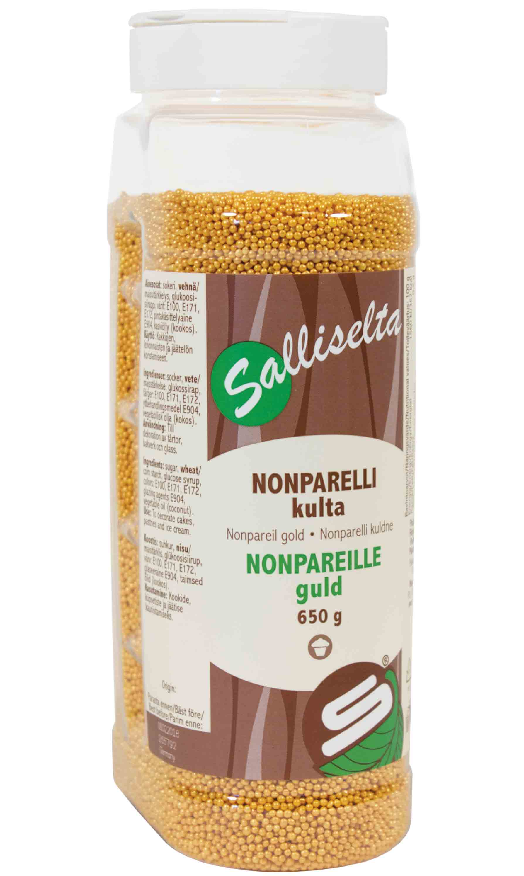 Nonpareils gold 650 g