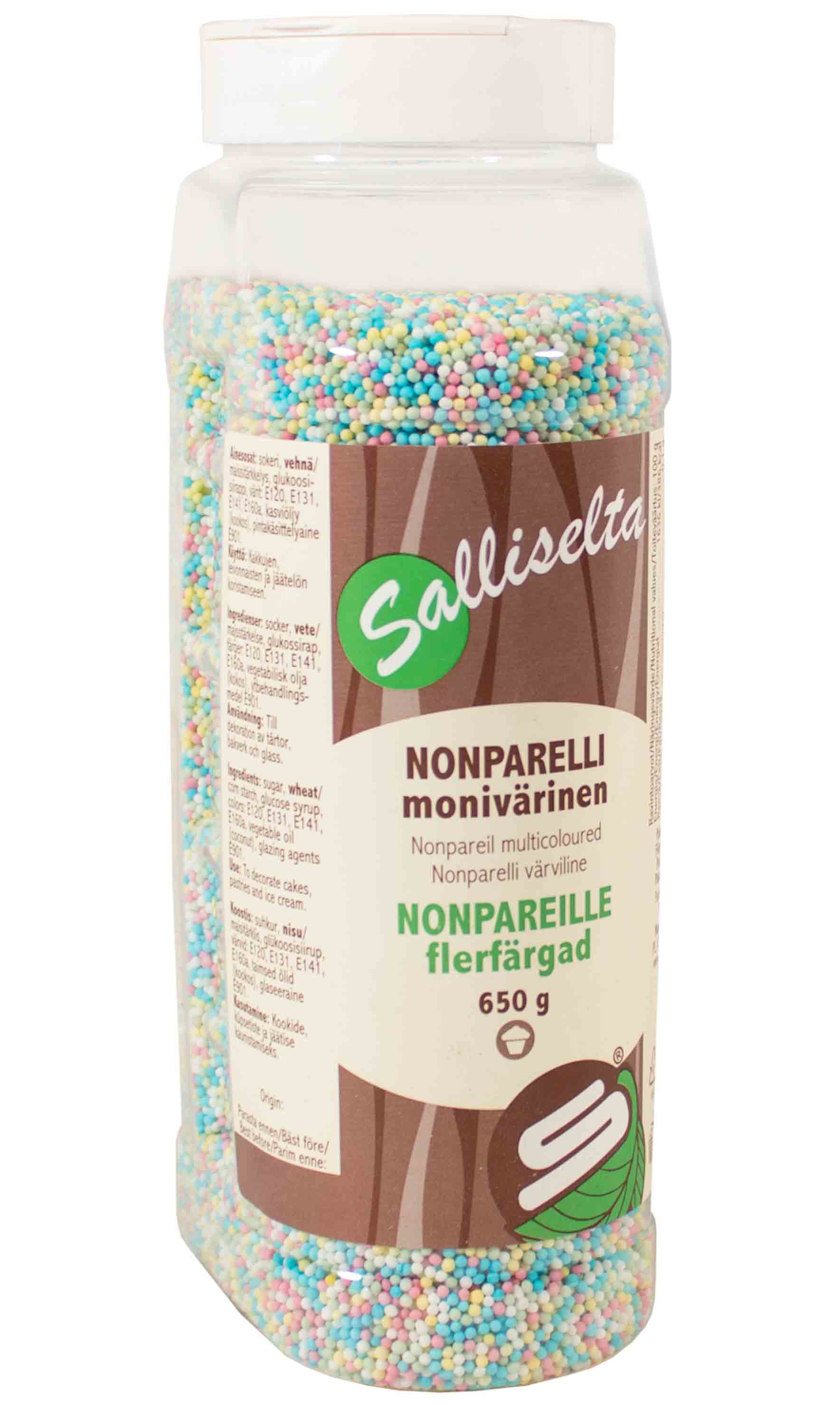 Nonpareils multicoloured 650 g