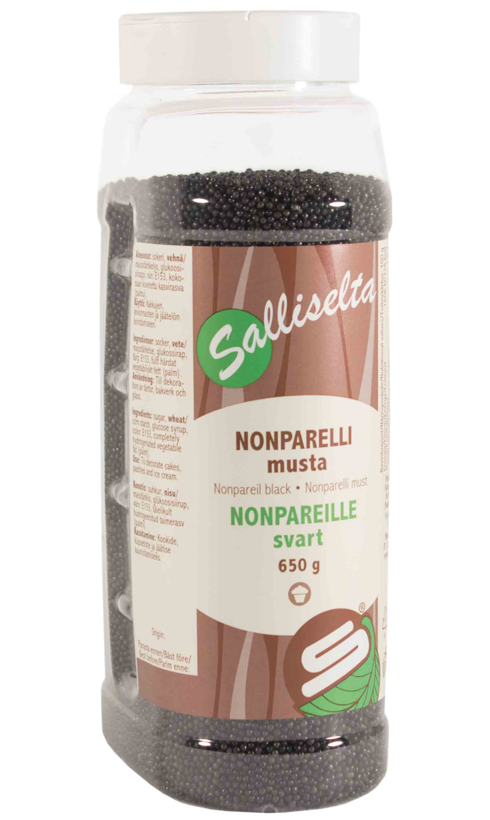 Nonpareils black 650 g